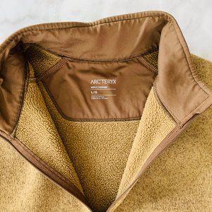 Arc'teryx Jackets & Coats - Arc'teryx Covert 1/2 Zip Owami Heather Tan Jacket